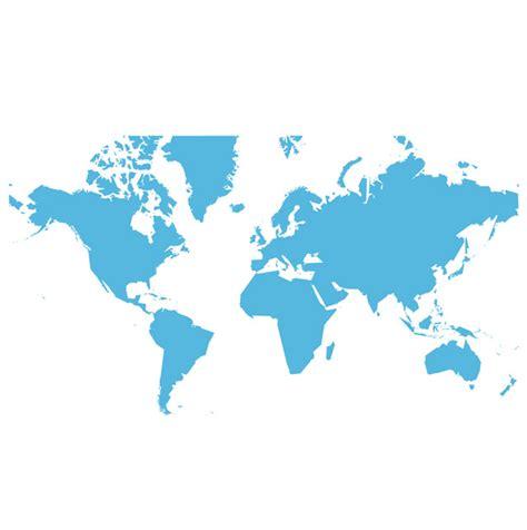 simple world map ai svg eps vector