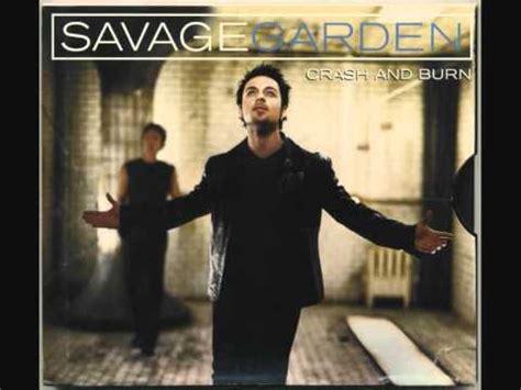 Savage Garden Crash And Burn by Savage Garden Crash Burn Acoustic Live