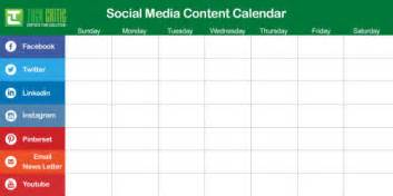 4 reasons why you need a social media content calendar