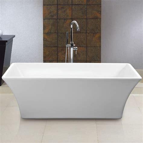 60 freestanding bathtub 60 quot draque freestanding acrylic tub bath remodel pinterest