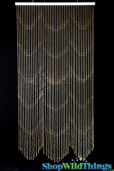 raindrop beaded curtains raindrops curtain gold backdrops metallic gold beaded