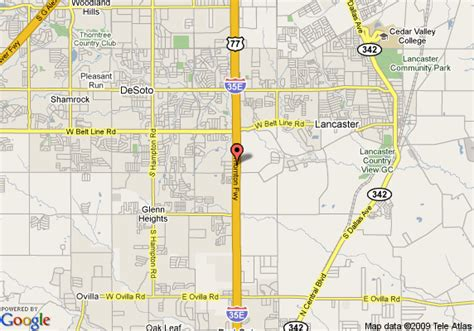 map of desoto texas map of la quinta inn suites desoto de soto