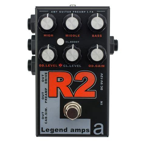 Amt R2 Mesa Rectifier Legend S Guitar Effect Pedal amt electronics legend ii r2 pedal bundle black