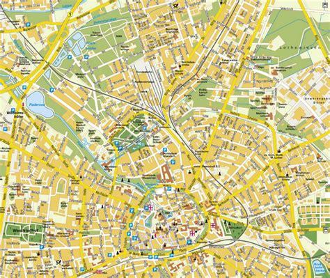 paderborn map paderborn map and paderborn satellite image