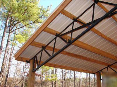 pole barn  metal roofing steel truss  deal