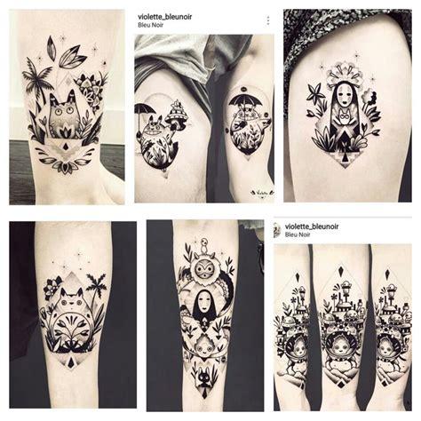 studio ghibli tattoos best 25 miyazaki ideas on studio