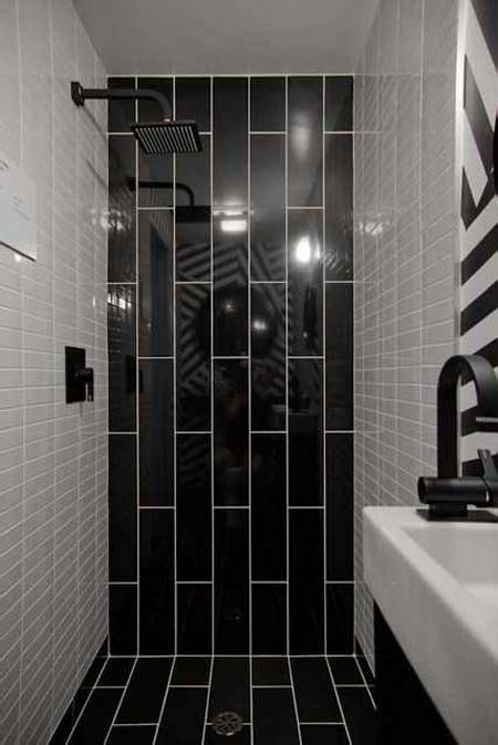 34 black bathroom tile ideas and pictures 21 best images about downstairs toilet on pinterest