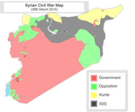 Syria War Template by Syria Template Map