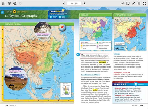 maps studies 6th grade map of asia my