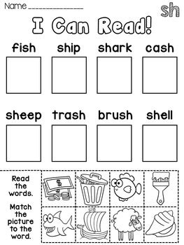 Printable Phonics Games Year 1 | phonics center activity worksheets or homework for the