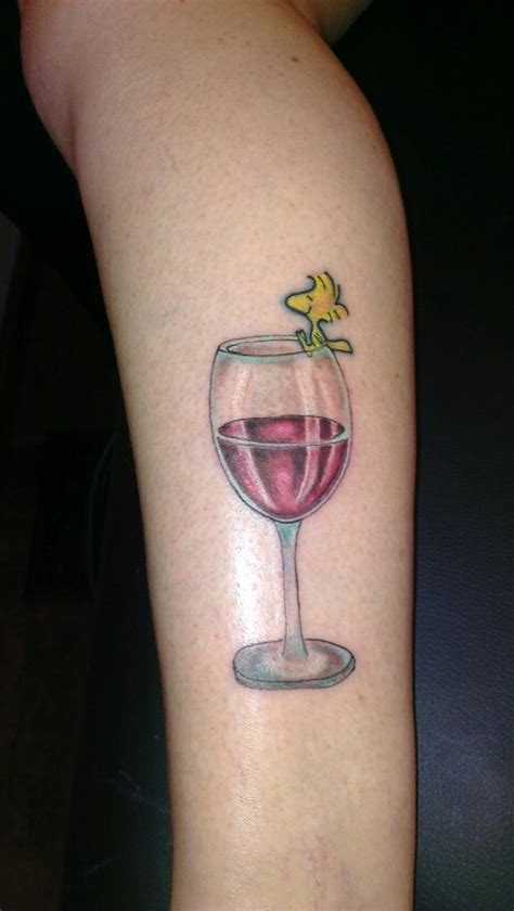 woodstock wine glass tattoos