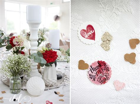 Deko Hochzeit Rot by Hochzeitsdeko Schwarz Wei 223 Rot Alle Guten Ideen 252 Ber Die Ehe
