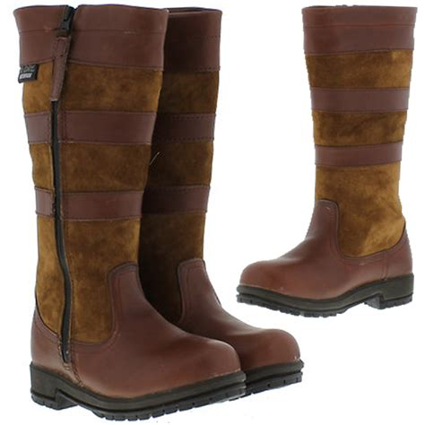 childrens boots childrens waterproof leather yard stable