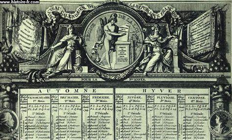 Calendrier Revolutionnaire Francais Le Calendrier R 233 Publicain Ondinecultureg