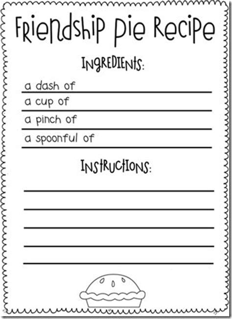 friendship card template free printable the 25 best friendship lessons ideas on