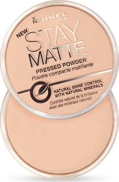 Rimmel Stay Matte Shade Transparan rimmel stay matte pressed powder transparent 14gr skroutz gr
