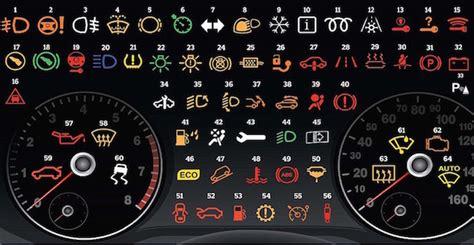Kontrollleuchten Auto Gr N by Uso Delle Di Un Autoveicolo A Motore Lucinellanotte