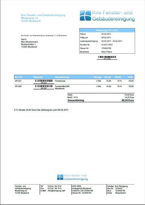 Muster Rechnung Privat An Firma Geb 228 Udereinigung Software Faktura Manager Rechnungen Preise Scoutsystems Software Downloads