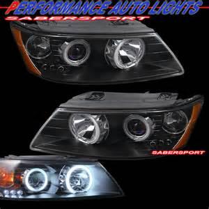2006 Hyundai Sonata Headlight Bulb Ccfl Eye Halo Black Projector Headlights Led For