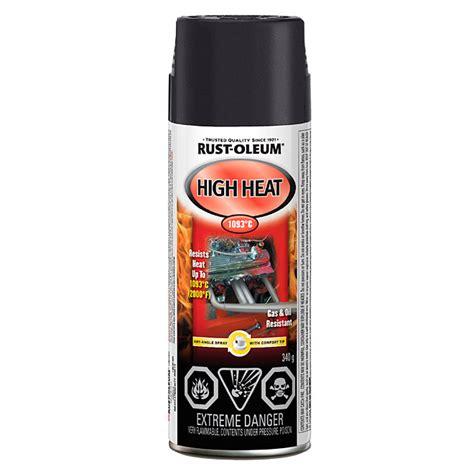 home depot high heat paint rust oleum automotive high heat spray paint 340g flat