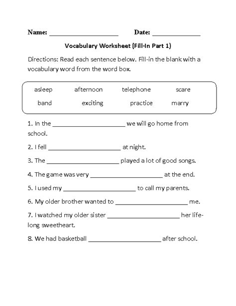 printable worksheets grade 1 english englishlinx com english worksheets