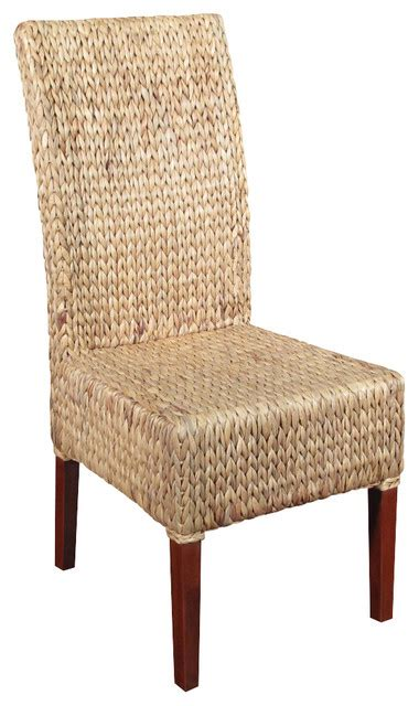 outdoor wicker parson chairs solid mahogany woven wicker occasional parson side chair
