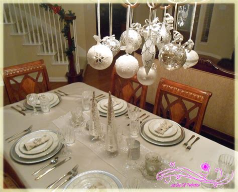 ideas for table decorations christmas table decorations just shy of perfection