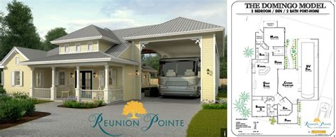 rv port home floor plans