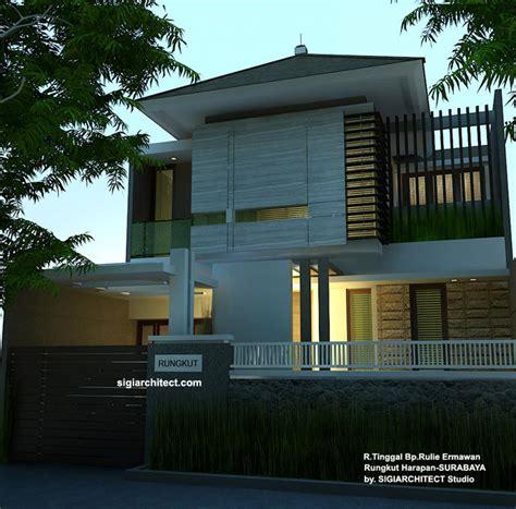 desain atap rumah bagian belakang desain rumah tinggal minimalis desain pagar depan