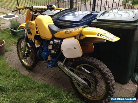 Suzuki 250 Motorcycle For Sale Suzuki Rm250 For Sale In The United Kingdom