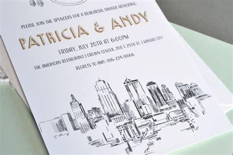 Wedding Invitations Kansas City by Kansas City Rehearsal Dinner Invitations