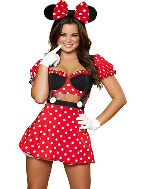 Dress Wanita Mini Dress Disney Mickey 19 minnie mouse costume usa