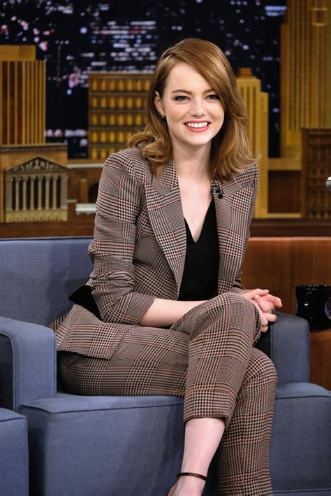 emma stone tv shows emma stone nails it style wise on quot the tonight show