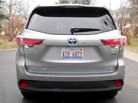 2015 Toyota Highlander Hybrid Review 2015 Toyota Highlander Hybrid Review