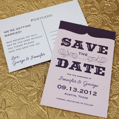 Save The Date Template With Retro Type Download Print Save The Date Cards Templates 2