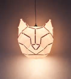 diy foldable paper animal lights by mostlikely colossal