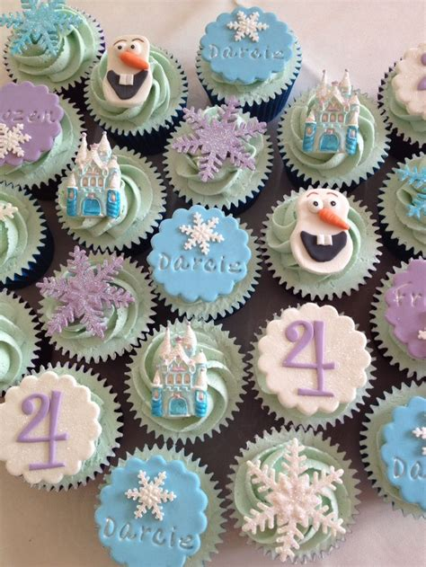 Disney Frozen Cupcakes On Pinterest | disney frozen cupcakes birthday party ideas pinterest