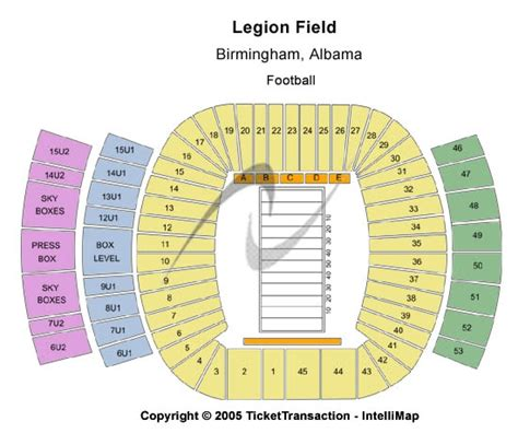 legion field seating chart let s get ready to rumble the 70th annual magic city