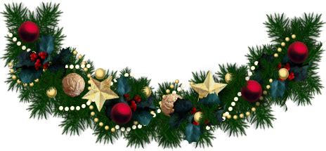 Card amp wallpapers free christmas garland clip art free download