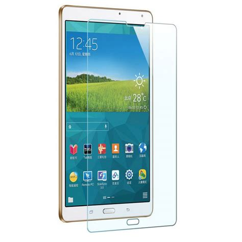 Tempered Glass Samsung Tab T700 mr northjoe glass screen guard for samsung tab s t700