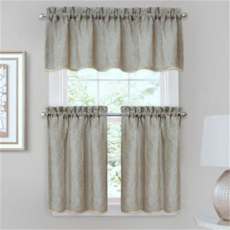 tier curtains bedroom buy bedroom window curtains from bed bath beyond