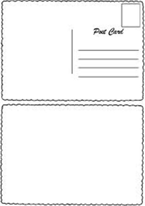 postcard template front and back the world s catalog of ideas