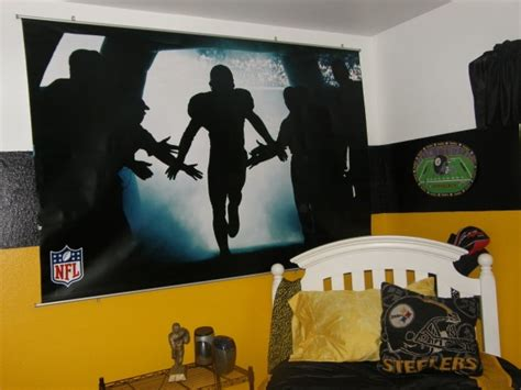 steelers bedroom ideas awesome steelers bedroom