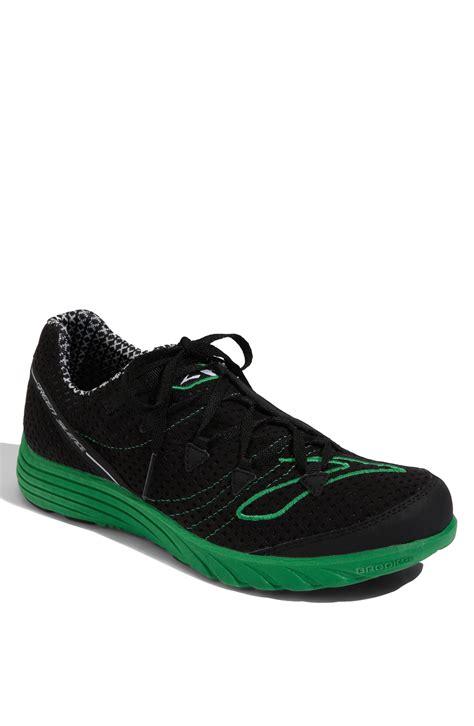 kellys running shoes green silence running shoe in black for black