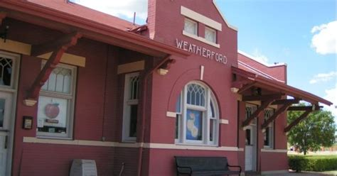 weatherford chamber of commerce aka s fe depot