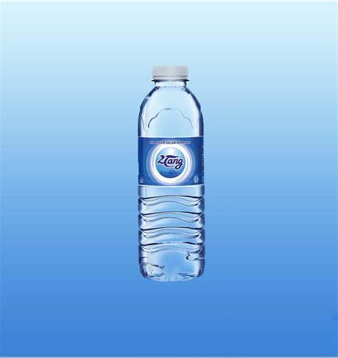 Teh Zegar Botol air mineral 2tang