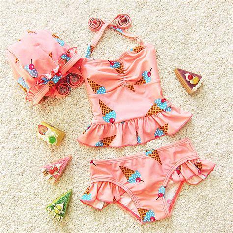 cute toddler girl bathing suits new 2016 korean girls swimwear cute baby girls bikini