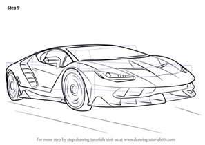 Draw Lamborghini Learn How To Draw Lamborghini Centenario Sports Cars