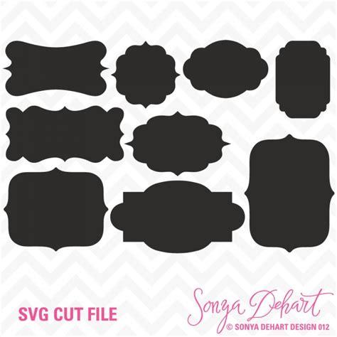 design label simple simple labels svg cuttables