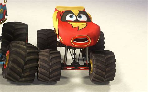lightning mcqueen monster truck videos image lightning mcqueen monster truck mater png pixar